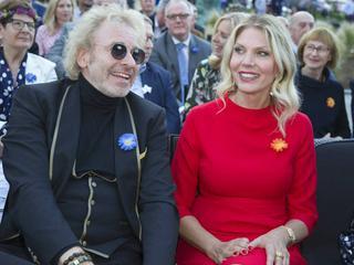 Thomas Gottschalk und Karina Mroß zeigen sich erstmals öffentlich
