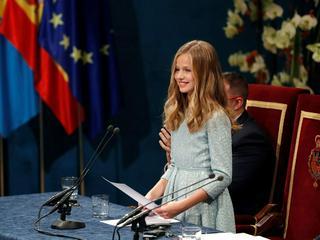 Leonor von Spanien tritt erstmals als Stiftungspräsidentin auf