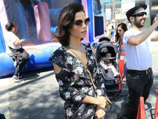 Jenna Dewan: Stylischer Mutter-Tochter-Tag auf dem Bauernmarkt