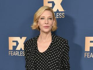 Cate Blanchett verletzt sich mit einer Kettensäge