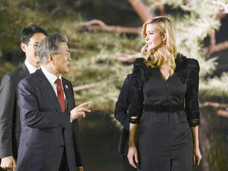 Ivanka Trump: Strenger Auftritt in Südkorea