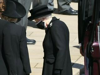 Zeremonie für Prinz Philip: Queen Elizabeth II. musste alleine trauern