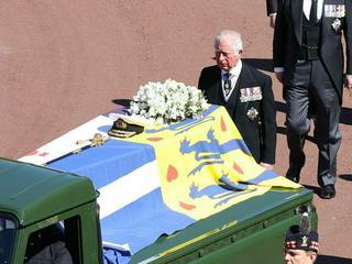 Trauer um Philip: Prinz Charles verabschiedet sich von seinem Vater