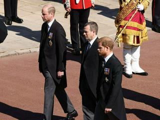 William und Harry: So nahmen sie Abschied von Prinz Philip