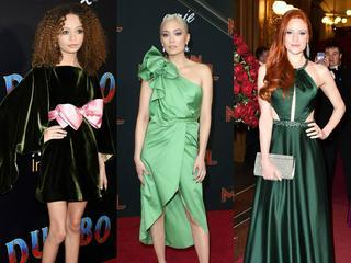 Es grünt so schön: Die Promi-Damen lieben grüne Kleider
