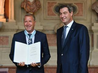 Bayerischer Verdienstorden: Fußballweltmeister, Weltstar und Wagner