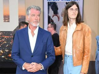 Pierce Brosnan: Überraschender Auftritt mit Sohn Dylan