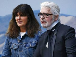 Virginie Viard wird die Nachfolgerin von Karl Lagerfeld