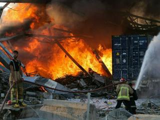 Hunderte Verletzte: Gewaltige Explosion erschüttert Beirut
