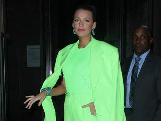 Blake Lively: Auf dieses Outfit wäre Kermit der Frosch sicher neidisch