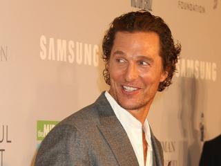 Endlich hat Matthew McConaughey seinen Abschluss in der Tasche