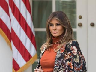 Melania Trump: Durch extravagante Mode immer ein Hingucker