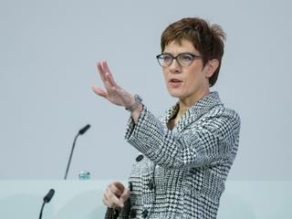 Annegret Kramp-Karrenbauer ist neue CDU-Vorsitzende